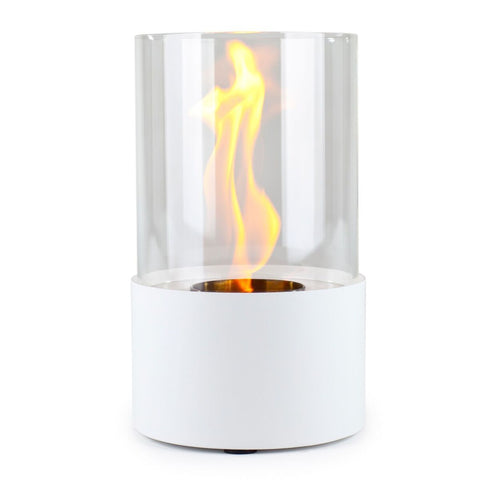 Piccolo Blanco Accenda Table Top Fireplace