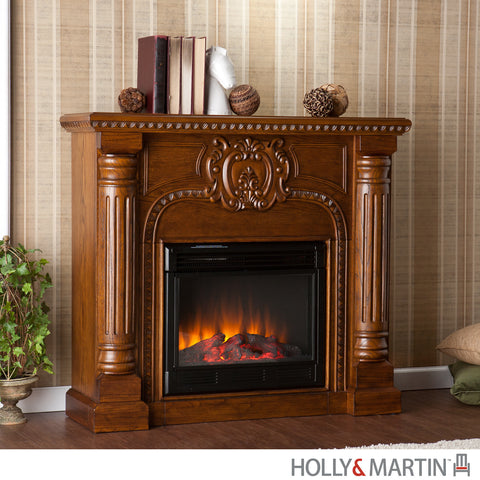Traditional and Classic Electric Fireplace Mantels