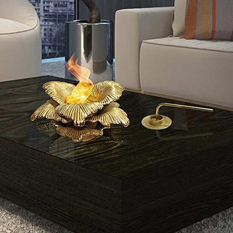 Vibrant and Unique Tabletop Fireplaces