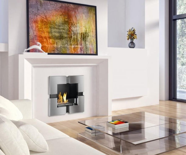 Tokio Recessed Ventless Ethanol Fireplace