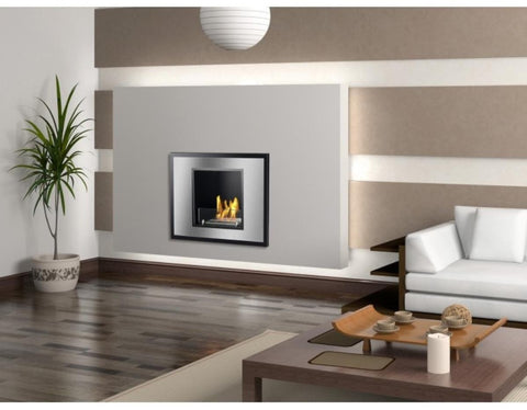 Vienna Recessed Ventless Ethanol Fireplace