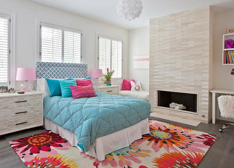 Using Electric Fireplaces in Kids' Rooms