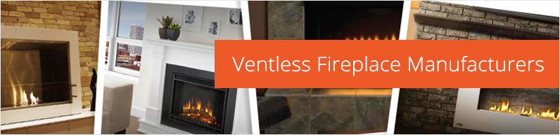 Ventless, Ethanol, Electric Mantle Fireplaces, Wall mounted, Recessed,