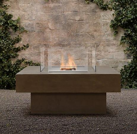 How to Build an Outdoor Fire Pit Using a Ventless Fire