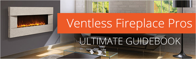 Ventless Wall Fireplace