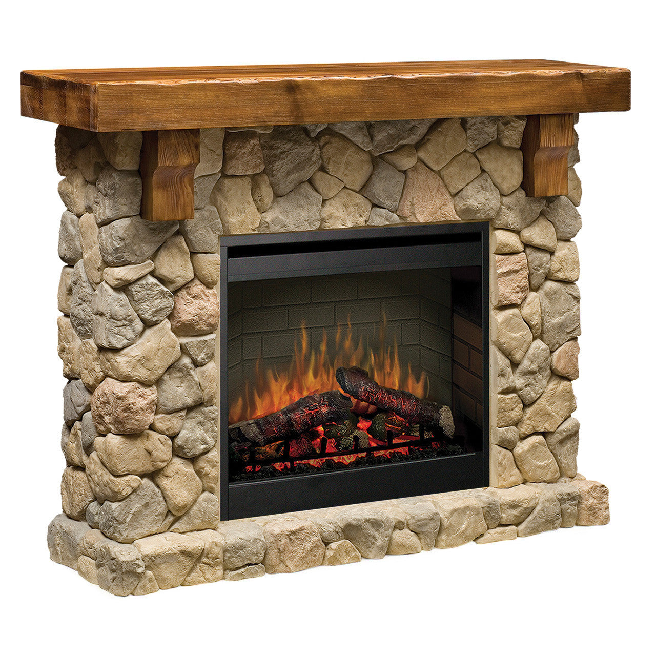 Pleasing Dimplex Fieldstone Electric Fireplace Home Interior And Landscaping Ologienasavecom