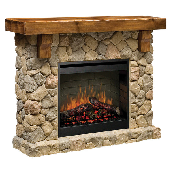 Fabulous Dimplex Fieldstone Electric Fireplace Home Interior And Landscaping Ologienasavecom