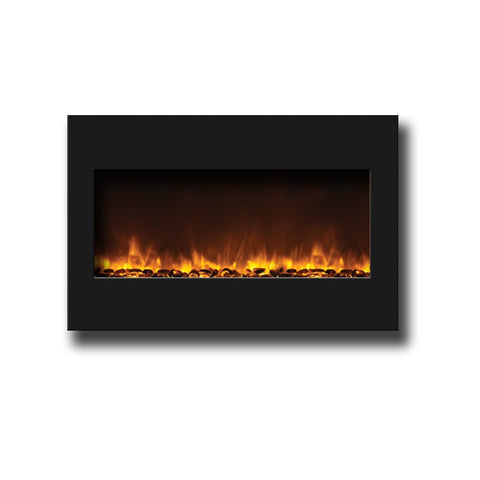 "Amantii 33"" Zero Clearance Electric Fireplace - Electric Fireplaces - Ventless Fireplace Pros"
