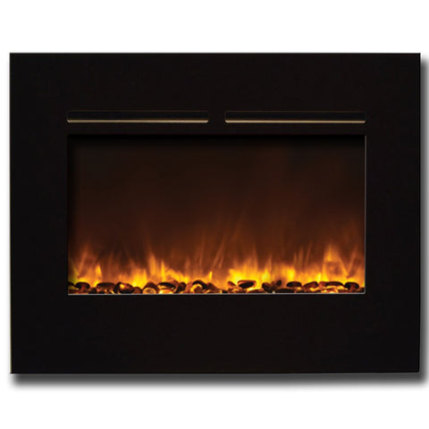 "Amantii 30"" Flushmount Zero Clearance Electric Fireplace - Electric Fireplaces - Ventless Fireplace Pros"