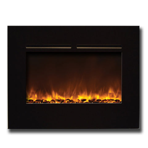 "Amantii 26"" Flushmount Zero Clearance Electric Fireplace - Electric Fireplaces - Ventless Fireplace Pros"