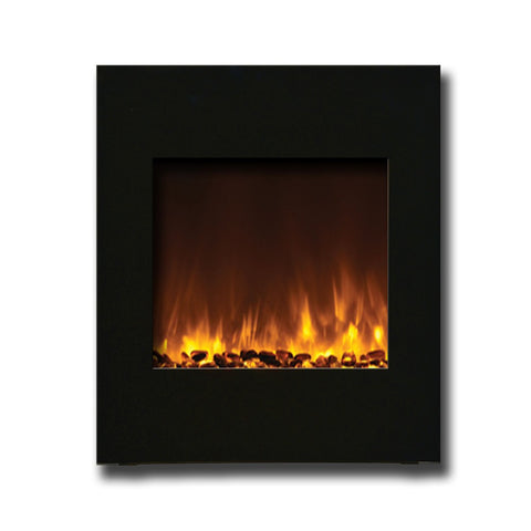 Amantii Wall Mount or Built-In Electric Fireplace with 'Portrait' 24″ x 28″ Surround