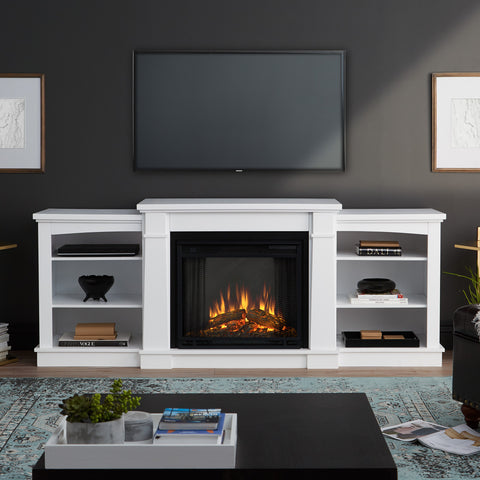 Hawthorne Electric Entertainment Fireplace