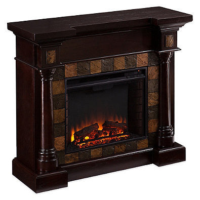 Carrington Convertible Electric Fireplace - Classic Espresso