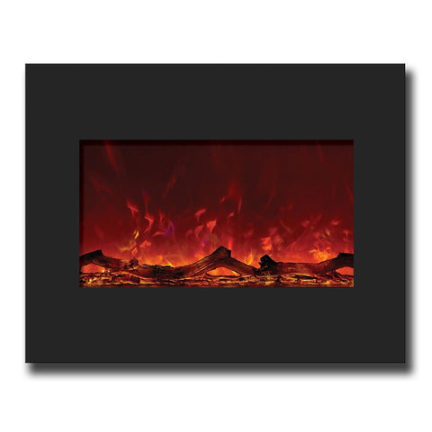 "Amantii 26"" Zero Clearance Electric Fireplace - Electric Fireplaces - Ventless Fireplace Pros"
