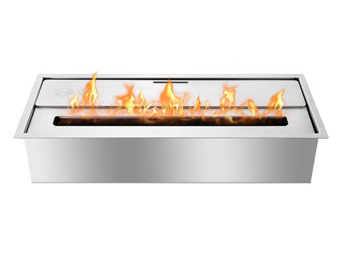 EHB1800 - Eco Hybrid Bio Ethanol Burner - Ventless Fireplace Pros