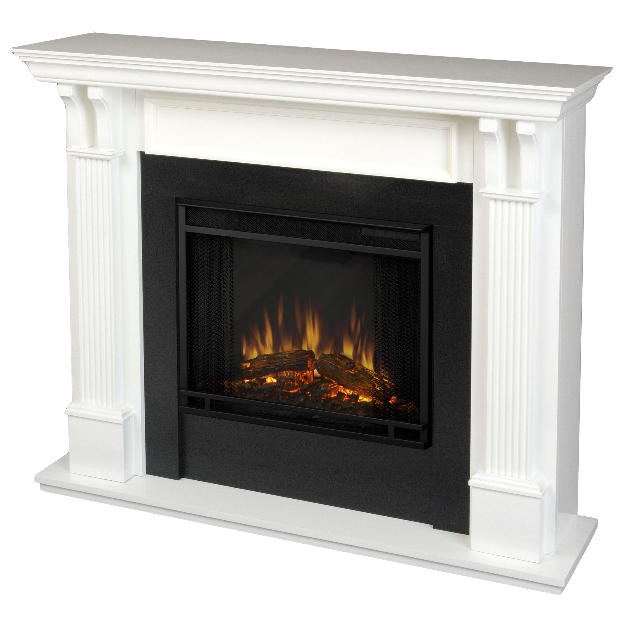 Exceptionnel Real Flame Ashley Electric Fireplace In White