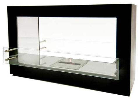 Bio-Flame Argento Double Sided Bio-Ethanol Fireplace