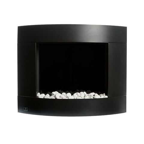 Bio Blaze Diamond 1 Biofuel Wall Fireplace - Ventless Fireplace Pros