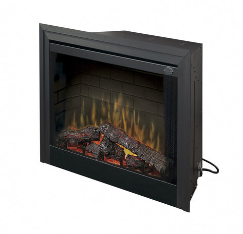 "Dimplex 33"" Deluxe Built-in Electric Firebox - Ventless Fireplace Pros"