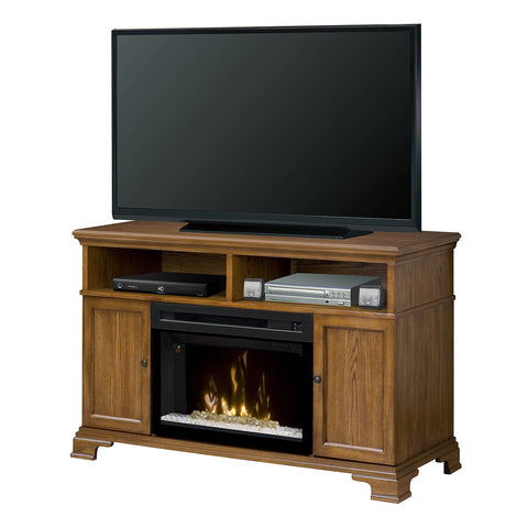 Dimplex Brookings Media Electric Fireplace Console with Acrylic Ice