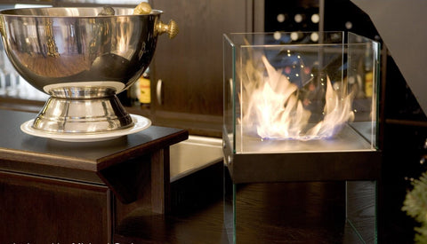 Buschbeck Square Ethanol Fireplace