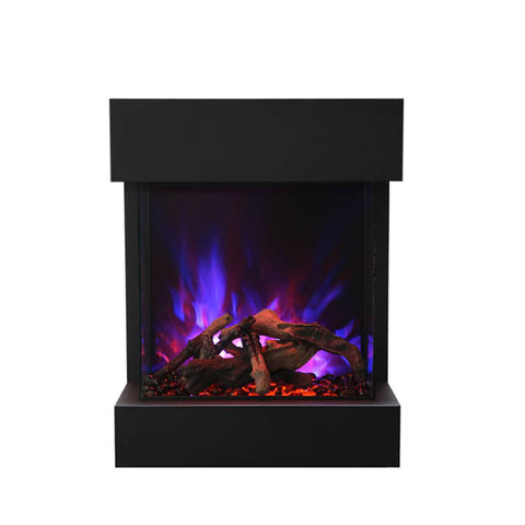 Amantii True View Cube 2025 3-Sided Electric Fireplace - Ventless Fireplace Pros