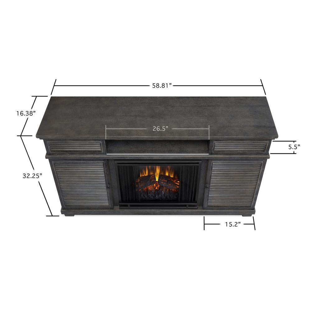 cavallo entertainment unit with electric fireplace u2013 ventless