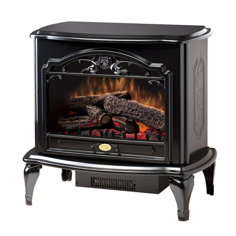 Dimplex Celeste Electric Stove in Black - Ventless Fireplace Pros