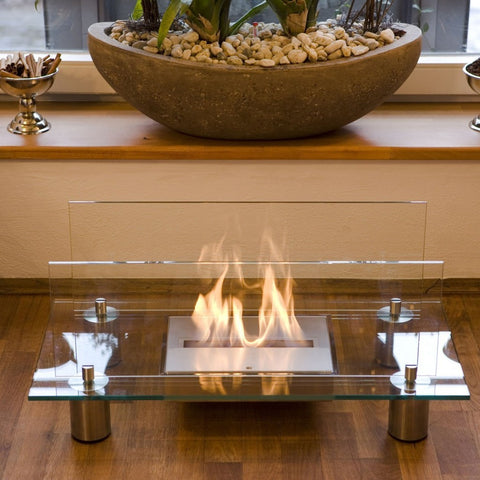 Buschbeck Crystal Bio Ethanol Indoor Fireplace