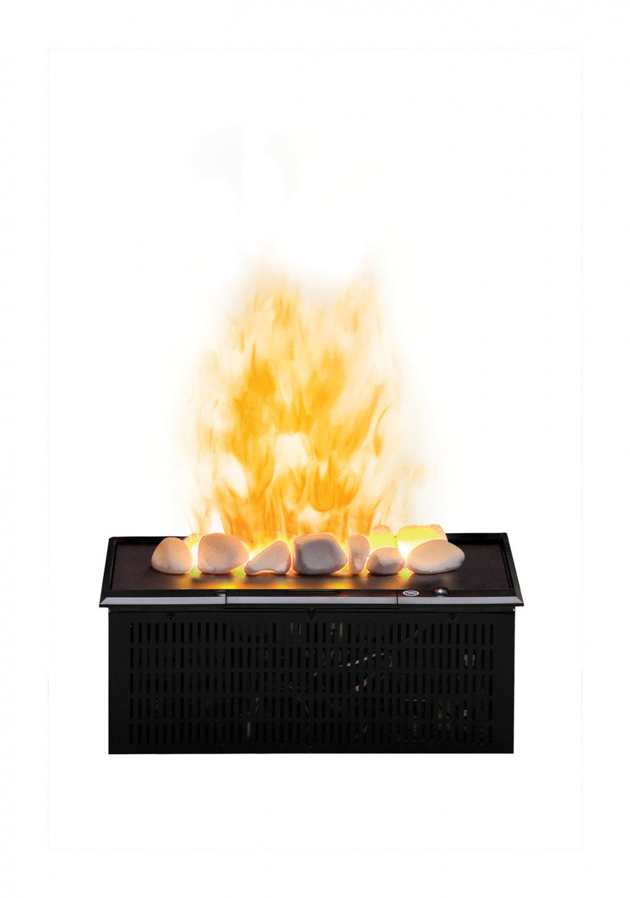 Dimplex Opti Myst Cassette With Rocks And Heat Receptacle Electric