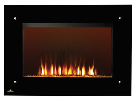 "39"" Wall Mount Electric Fireplace (Without Heat)"