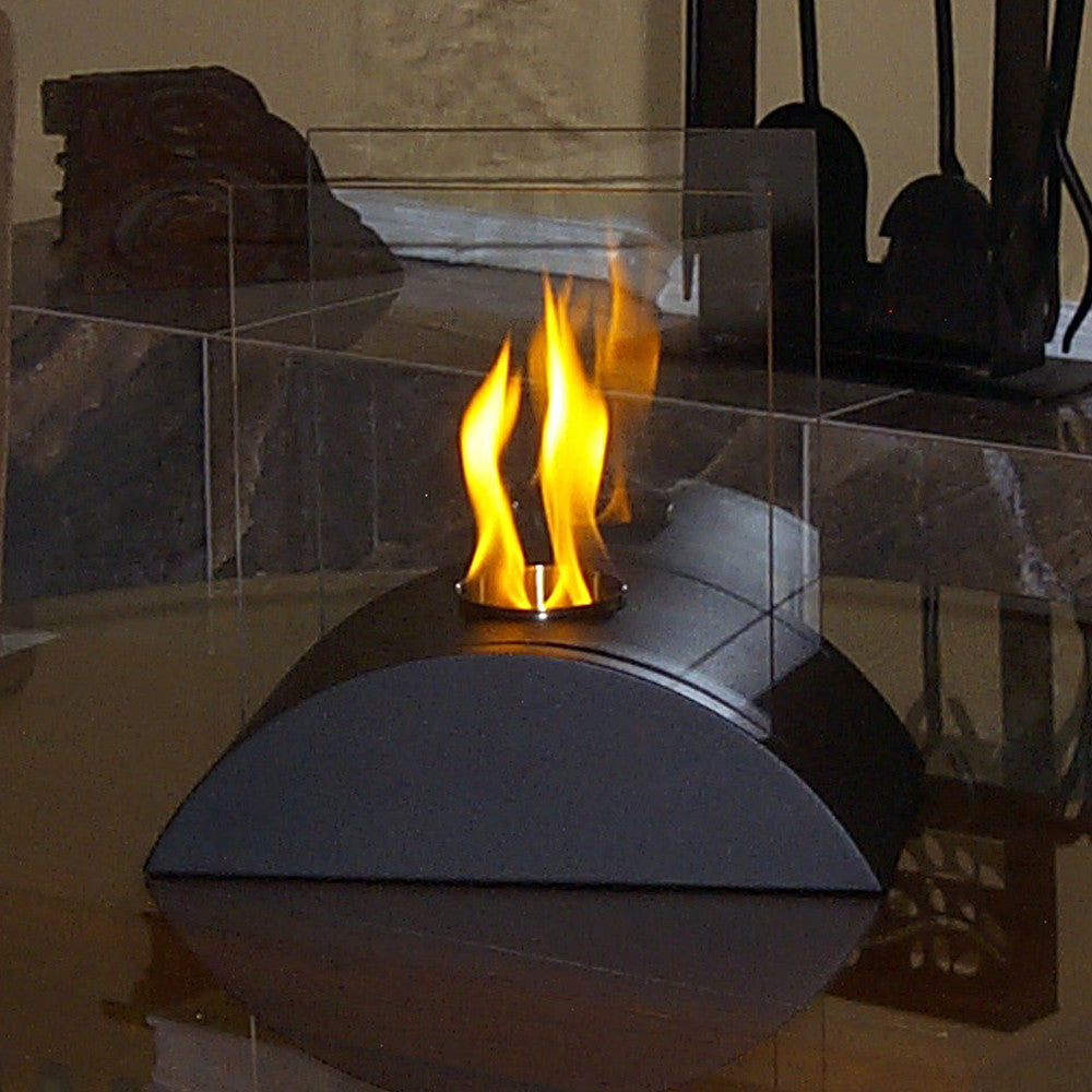 Nu Flame Estro Tabletop Decorative Ethanol Indoor Outdoor Fireplace   Ventless  Fireplace Pros ...