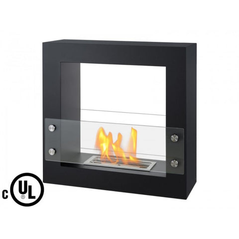 Lisbon Freestanding Ventless Ethanol Fireplace - Ventless Fireplace Pros