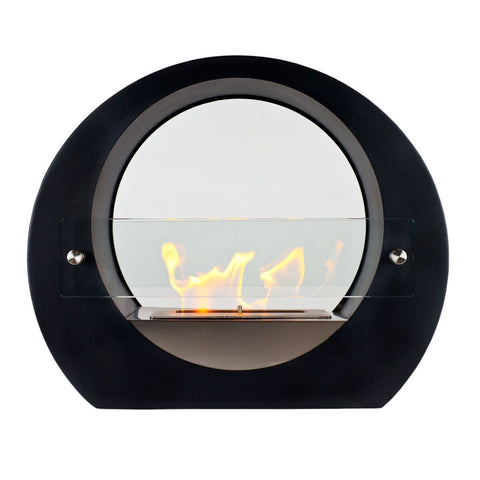 Tondo Freestanding Ethanol Fireplace - Ventless Fireplace Pros