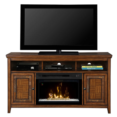 Dimplex Lynbrook Electric Fireplace Media Console (with Acrylic Ice)