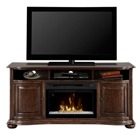 Dimplex Henderson Electric Fireplace Media Console - Acrylic Ice