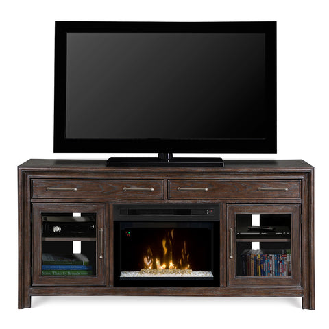 Dimplex Woolbrook Electric Fireplace Media Console - Acrylic Ice