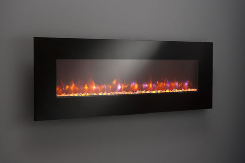 "70"" Linear Electric Fireplace"