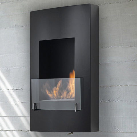 Eco-Feu Hollywood Wall Mounted Biofuel Fireplace - Ventless Fireplace Pros