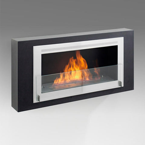 Eco-Feu Montreal Wall Mounted Biofuel Fireplace - Ventless Fireplace Pros