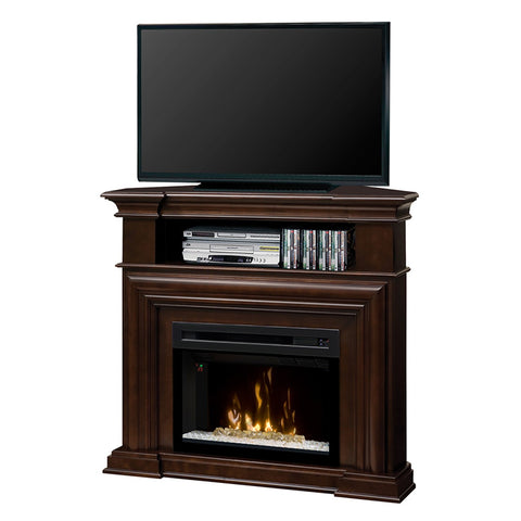 Dimplex Montgomery Media Electric Fireplace Console with Acrylic Ice