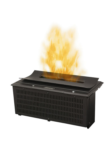 Dimplex Opti-Myst Cassette 400 mm with Curved Plate and Heat Receptacle Electric Fireplace Insert