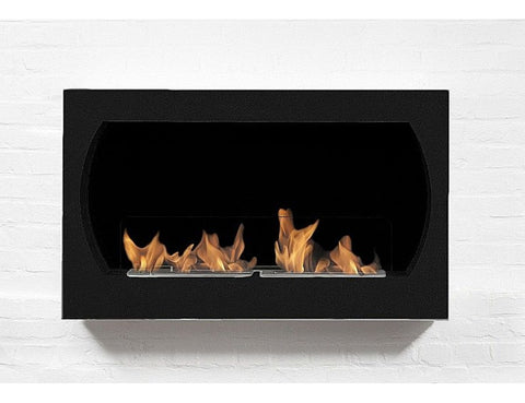 Bio-Blaze Oviedo Wall Mount Bio Ethanol Fireplace - Ventless Fireplace Pros