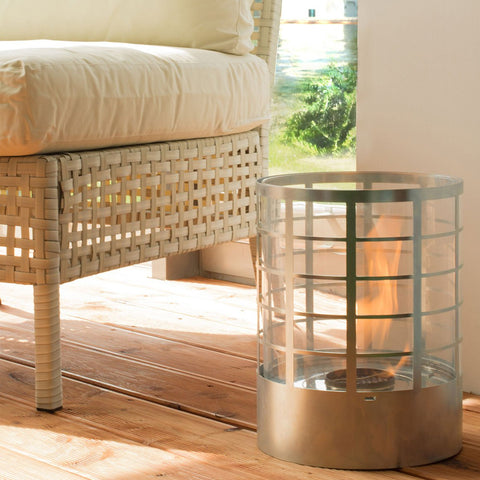 Petit Commerce Ethanol Fireplace - Ventless Fireplace Pros