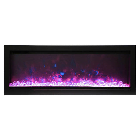 Amantii 34″ B Symmetry Electric Fireplace - Ventless Fireplace Pros