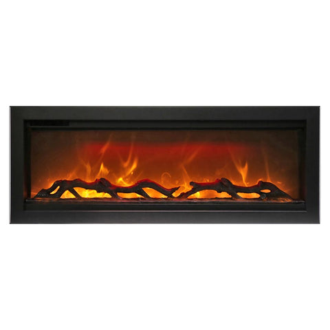 Amantii 42″ Symmetry Electric Fireplace - Ventless Fireplace Pros