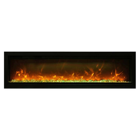 Amantii 60″ B Symmetry Electric Fireplace - Ventless Fireplace Pros