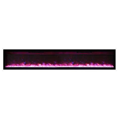 Amantii 88″ B Symmetry Electric Fireplace - Ventless Fireplace Pros