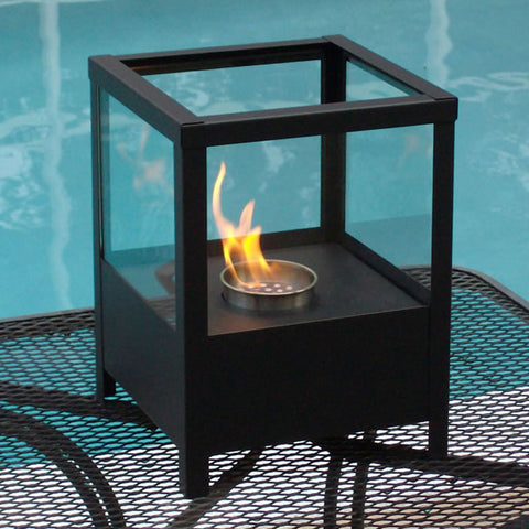 Nu-Flame Sparo Indoor/Outdoor Table Top Ethanol Fireplace - Ventless Fireplace Pros