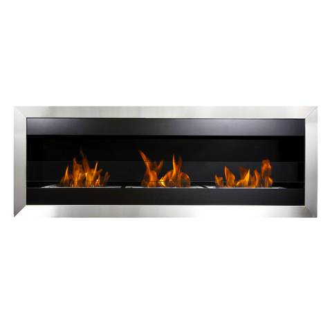 Bio Blaze Square XL 2 Bio-Ethanol Fireplace - Ventless Fireplace Pros